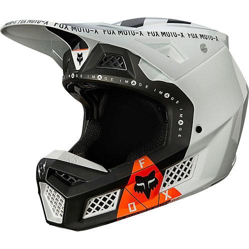 Casco Moto V3 Rigz Negro Fox