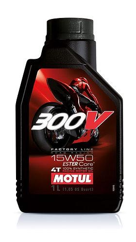 MOTUL 300V 15W50 100%