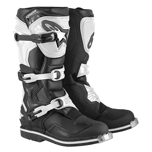 BOTA ALPINESTAR TECH 1 BLANCO/NEGRO