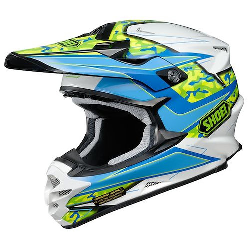 CASCO SHOEI VFX-X TURMOIL TC2