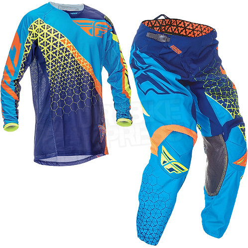 EQUIPO FLY RACING KINETIC - AZUL