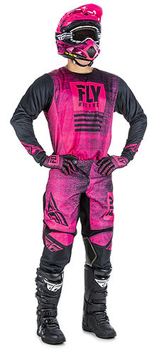 FLY RACING KINETIC NOIZ - PINK