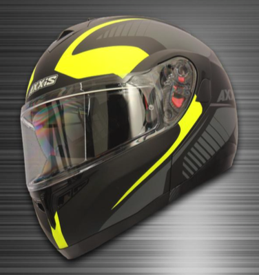 CASCO AXXIS OPTIMUS QUEST NEGRO-MATTE
