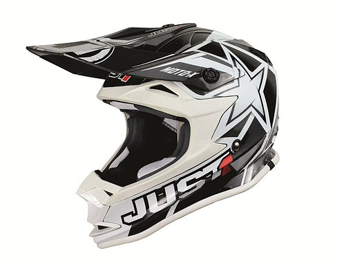 CASCO JUST1 J32 MOTO X BLACK