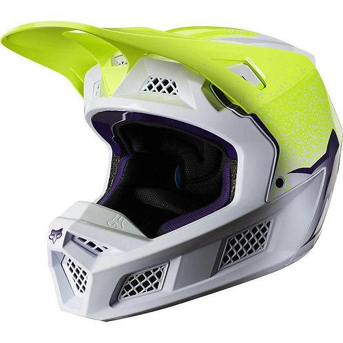 Casco Moto V3 Honr Le Amarillo Fluor Fox