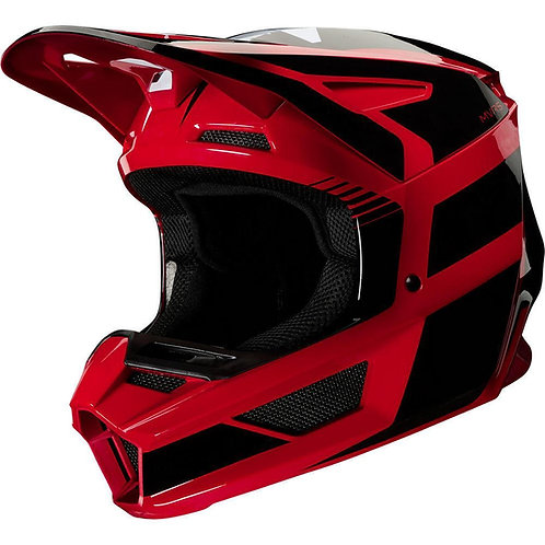Casco Moto V2 Hayl Rojo Fox