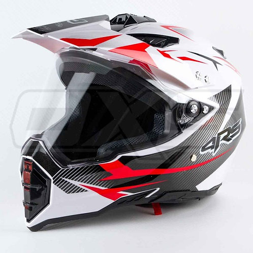 CASCO 4RS 128 MULTIPROPOSITO - ROJO
