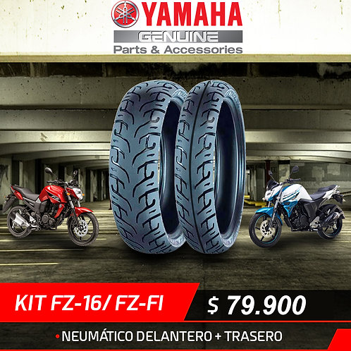 KIT NEUMATICOS YAMAHA FZ16
