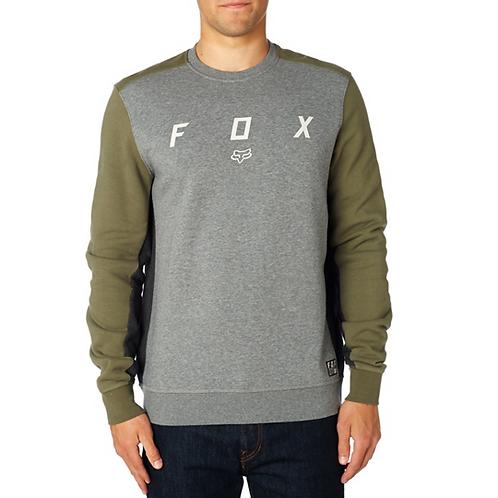 POLERON FOX HARKEN CREW FLEECE