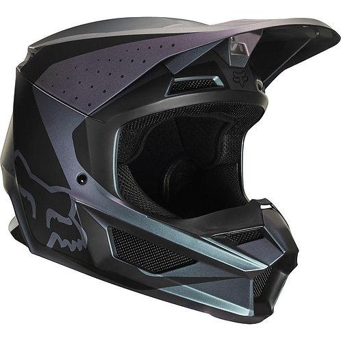 Casco Moto V1 Weld Negro Fox