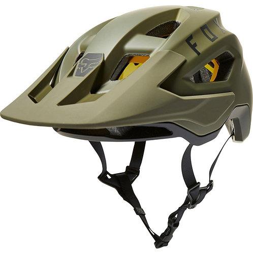 Casco Bicicleta Speedframe Mips Verde Olivo Fox