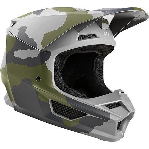 Casco Moto V1 Przm Camo Fox