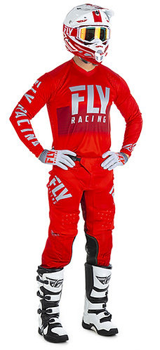 FLY RACING LITE HYDROGEN - RED