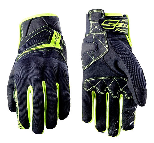 GUANTES FIVE RS3 NEGRO/FLUOR