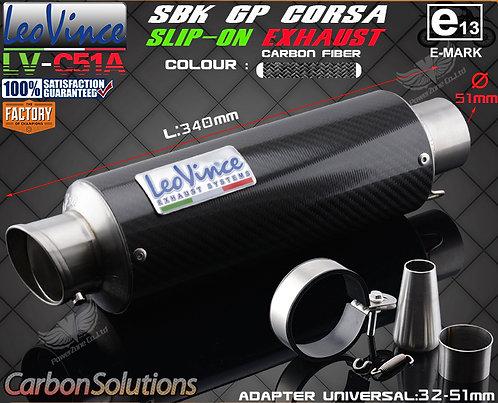 ESCAPE LEO VINCE CARBONO EXTRA LIGHT (32mm a 51mm acople)