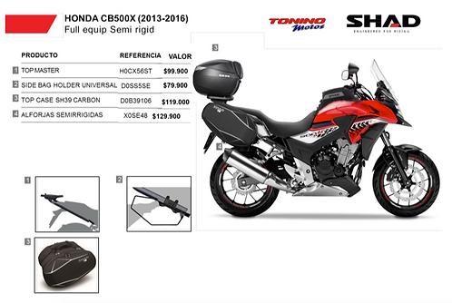Kit Shad SIMI RIGIDA CB500X 2013-2017