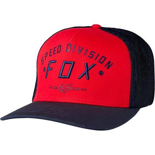 GORRO Fox Men's Flexfit SPEED RED