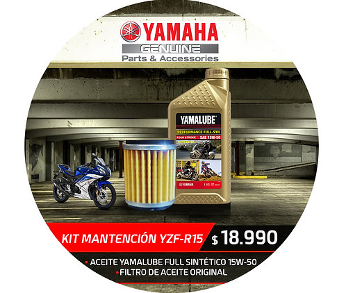 KIT MANTENCION YAMAHA R15