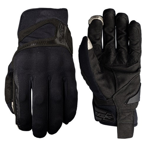 GUANTES FIVE RS3 NEGRO NEGRO