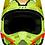 Thumbnail: Casco Moto V2 Leen Amarillo Fox L