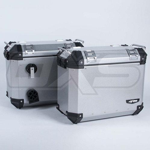 Maletas laterales para moto 4rs v39 aluminio 72 litros universal