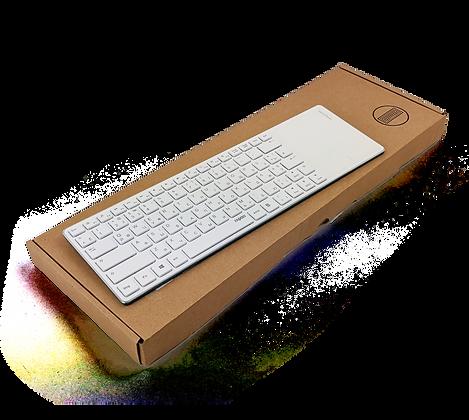 Клавиатура с тачпадом Rapoo E6700 Bluetooth White