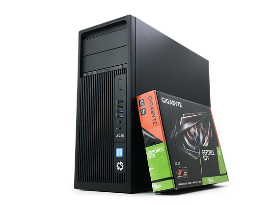 HP Z240 Tower Workstation GTX1650