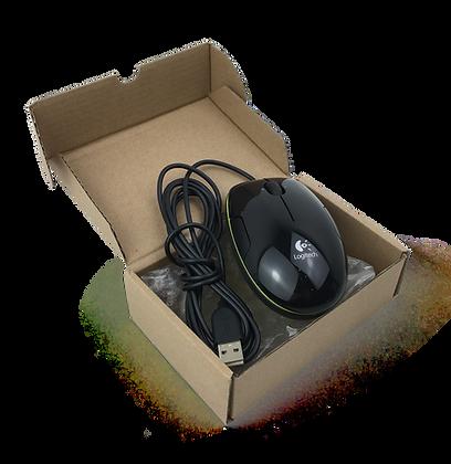 Мышь Logitech M150 USB Black/Salad Grape Acid