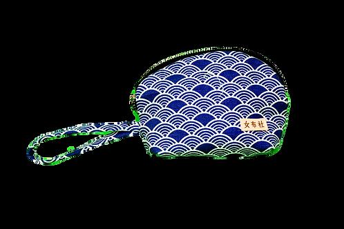 H11 - 12 化妝袋【海浪系列】和風家紋