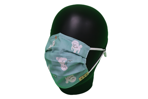 H26 - 28 布口罩 波波貴婦狗