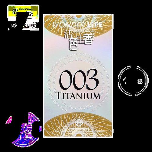 F17 活色生香 安全套 003 貼身超薄型 (銀)
