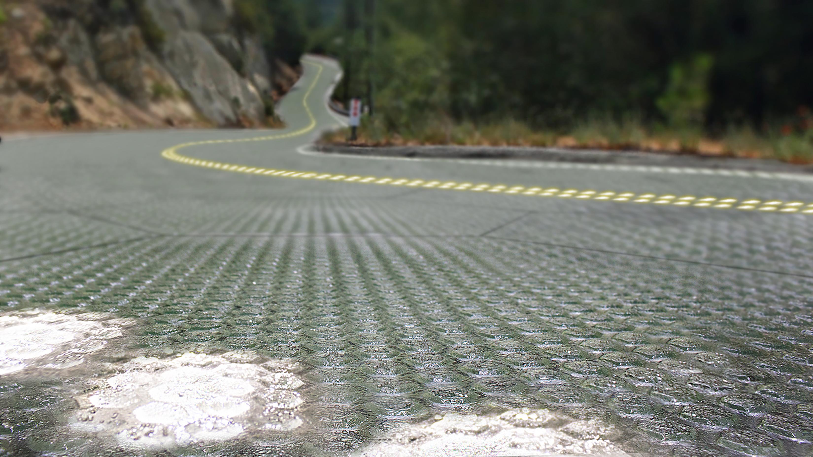 Solar Roadway Highway Concept
