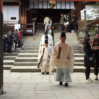 Meet Kyoto Shinto Priester