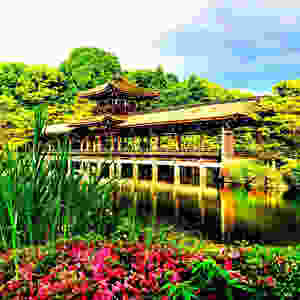 Heian Schrein Garten