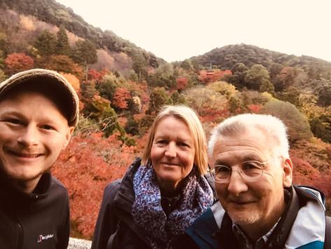 Meet Kyoto Herbst Farben