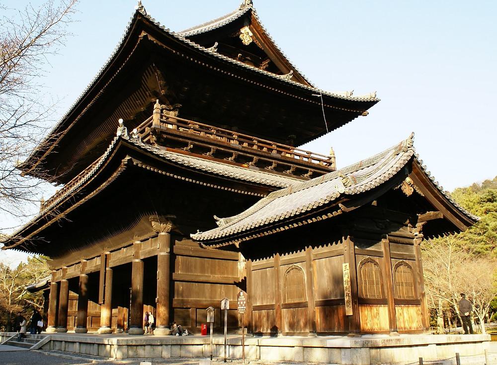 Tempel Tor in Kyoto