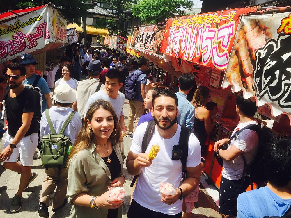 Fushimi Inari Markt