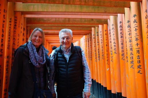 Meet Kyoto Fushimi Inari Tore