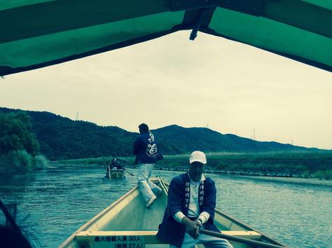 Meet Kyoto Rapit boat ride