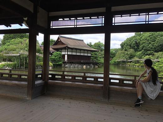 Meet Kyoto Heian Shrine