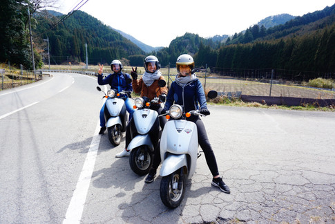 Meet Kyoto Motorroller Tour