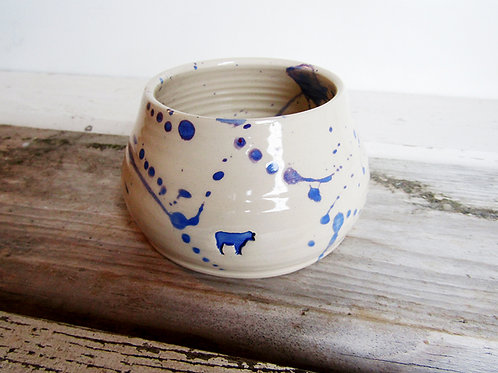 Unique hand painted sugar bowl