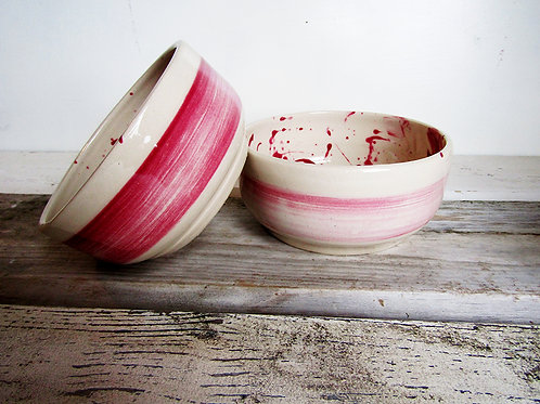 Hand painted Cereal Bowl set