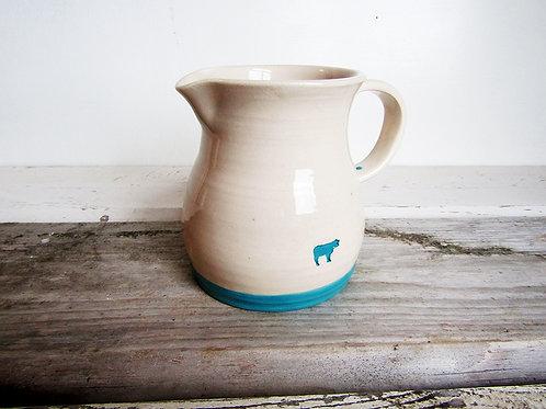 Old Cow Mug Jug