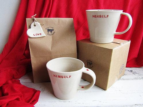 Himself & Herself Mug Gift set