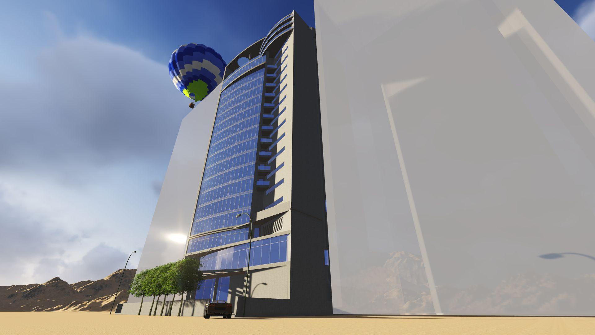 Ras al Kaiman - Tower