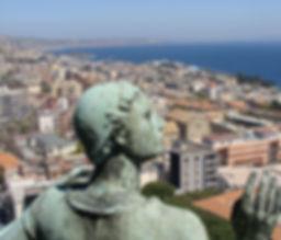Vista Santuario di Cristo Re Messina
