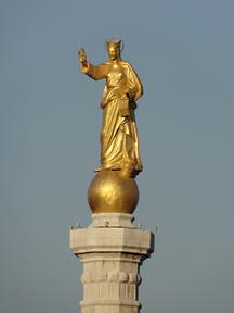 Statua della Madonna della Lettera Messina