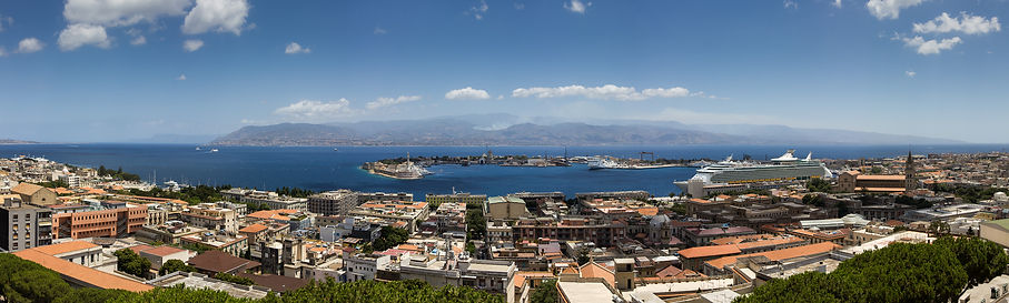 Vista dal Santuario di Cristo Re Messina