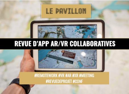 Revue d'applications collaboratives AR/VR